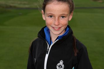 Ella is a rising star in the world of golf