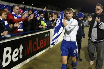 McAree hails Coleraine performance as Stripes make it four games unbeaten