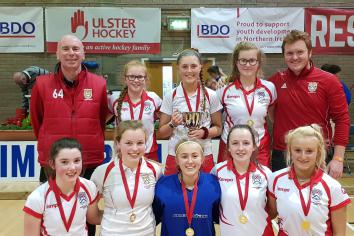 Ulster hockey title for Coleraine U-15s