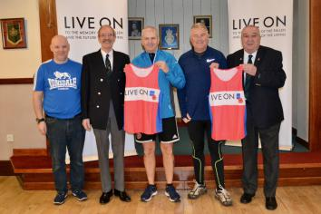 Local men to rake part in Larne Half Marathon for charity
