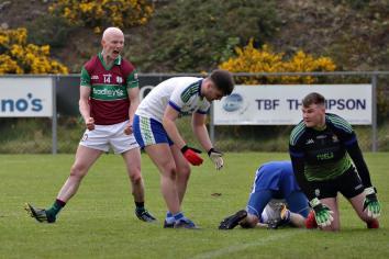 Eoghan Rua draw with Ballinderry Shamrocks