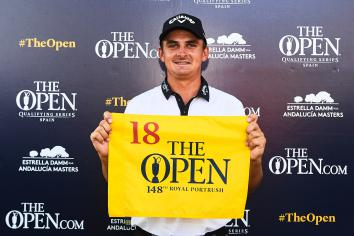 Three qualify in Spain for The 148th Open
