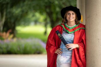 Irish captain receives honorary degree