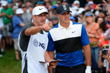 Koepka in glowing tribute to his caddie Ricky Elliott