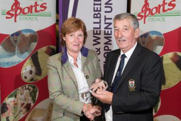 Wilma recognised by Sports Council