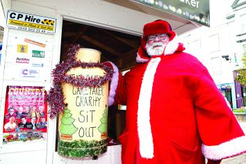 'Caring Caretaker' commences annual Christmas charity sit-out