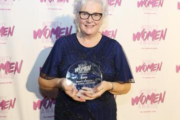 Beattie is quite the 'mighty woman' as she tastes success at awards ceremony