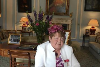 A legacy to be proud of: Rosemary 's fundraising has helped dozens of charities over the years