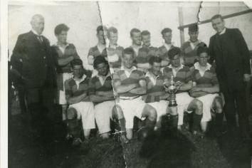 Dr Joseph Kerlin and the famous Claudy Cup