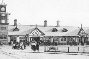Portrush train station built to cope with increased holiday traffic