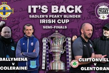 National Stadium to host Irish Cup ties