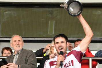 Slaughtneil hurlers close in on eight in a row