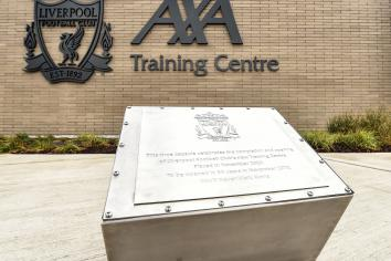 Reds celebrate opening of new AXA Training Centre