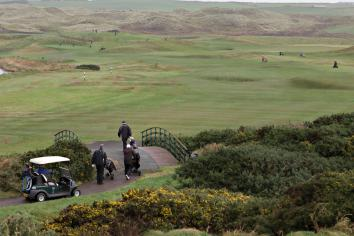 Golfers back on the fairways