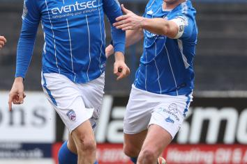 In-form Curtis at the double as Bannsiders make it 12 unbeaten
