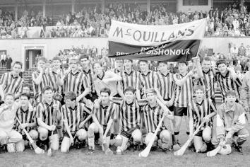 From the archives: Ballycastle minor hurlers bridge 12 year gap