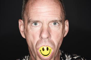 Fatboy Slim on his way back to Belfast