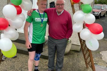Ryan on the run with £6k boost for Macmillan Cancer Support
