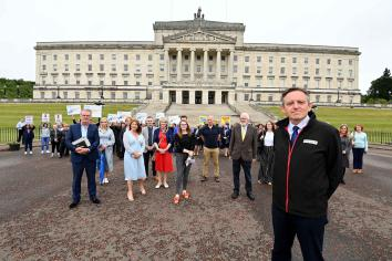 Day of Action at Stormont for the NI Travel Industry