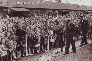 What are your memories of The Queen's visits to the borough?