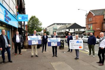 Lyons urges businesses get involved in the High Street Scheme