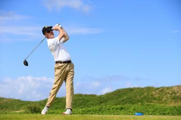 Castlerock's David Mulholland in contention at Irish Senior Men's Amateur Open Championship