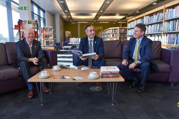 Ministers extol virtues of reading to mark Book Week