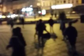 Footage captures Portrush violence