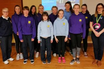 Girls' Brigade companies unite against dementia