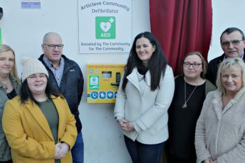 Joining forces in a bid to save lives in Articlave