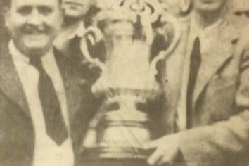 The day the FA Cup came to town