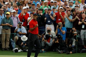 Tiger feat good for The Open