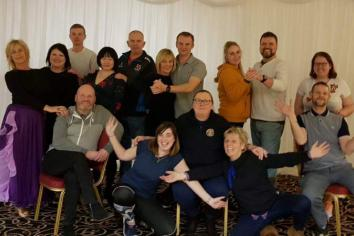Strictly dancers in step for Community Rescue Service