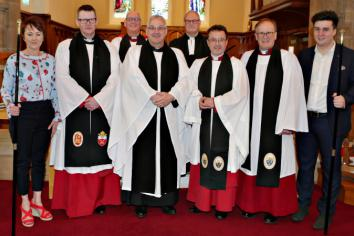 Agherton Parish Church packed for institution