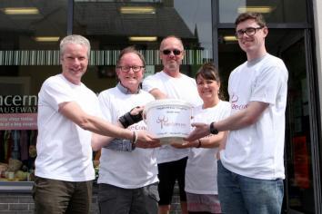 Fergal's fast raises vital funds for charity