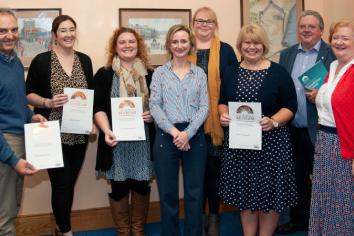 National Accreditation award for Garvagh Museum