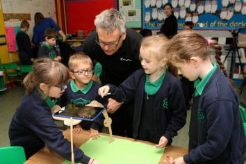 St. Malachy's Primary School partners up with the Nerve Centre