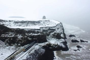 'Snow Day' shot causes a stir on social media